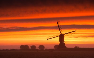 WIndmill in land of Heusden and Altena